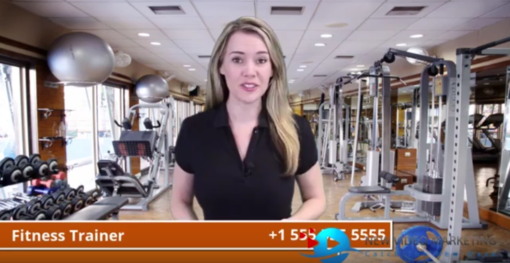 Fitness Trainer Actress Video