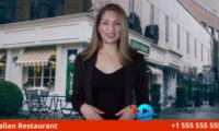 Pizza Restaurant Actress Video