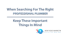 Plumber Informative Video 3
