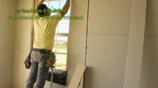 drywall contractor video marketing