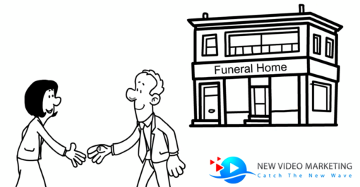 funeral whiteboard video template
