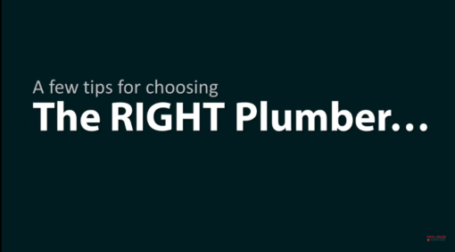 plumber video marketing