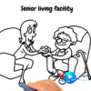 senior living video template