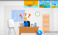 travel agent animated video