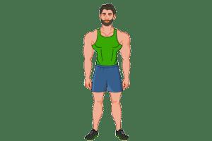 2d website avatar muscle