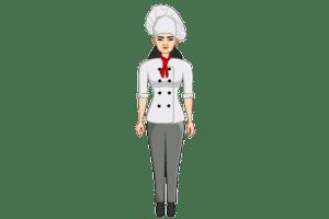 2d website avatar chef