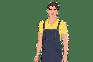 2D website avatar close