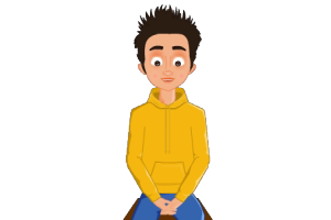 2D website avatar boy