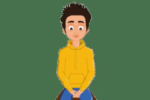 2D website avatar boy