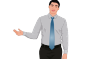 2D website avatar charles