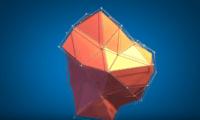 Abstract Polygon Logo Video