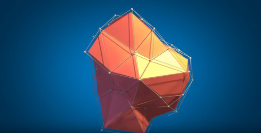 Abstract Polygon Logo Video
