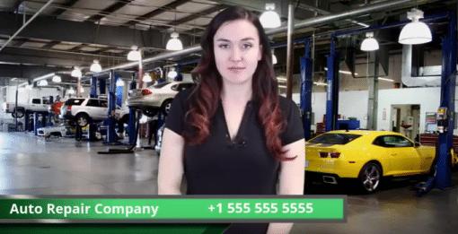 Auto Repair Live Actress