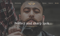 Professional Barber Website