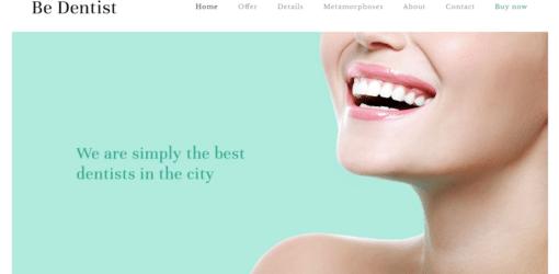 Professional Dentist Website