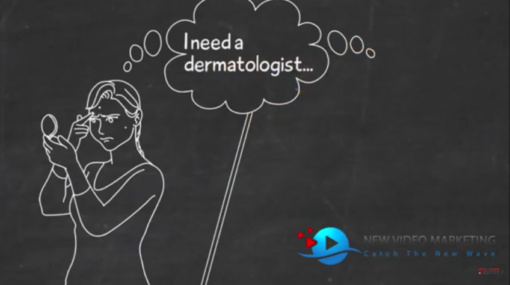 Dermatologist Blackboard Video