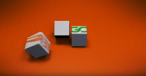Logo Cube Assembly Intro