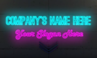 Neon Title Intro