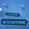 Twitter outro video