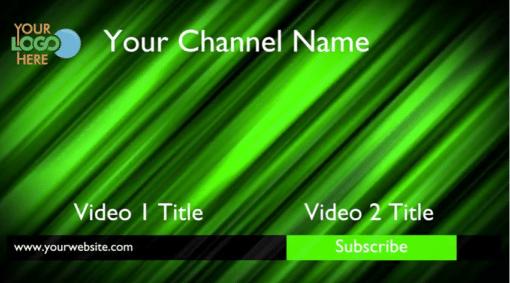 Youtube Outro Video