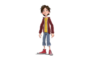 3D Teenager Virtual Avatar