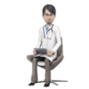 3D Website Avatar Doctor