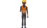 3D Construction Virtual Avatar