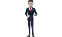 3D Website Male Avatar