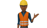 3D Construction Video Avatar
