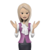 3D Female Video Avatar