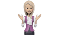 3D Female Video Avatar