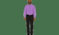 2D Website Avatar Black Man