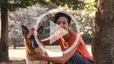 personalized dog kennel commercial