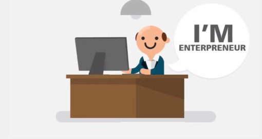 entrepreneur man animated