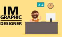 graphic designer man animated