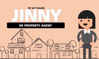 property agent woman animated