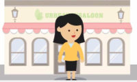 beauty salon spa animated