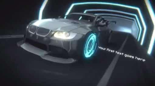 car intro logo