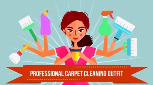 carpet cleaner animated