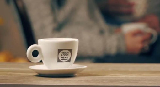 Coffee Cup Logo Intro