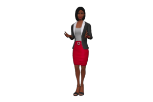 Black Woman 3D Avatar
