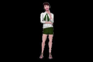 Fashion Lady 3D Avatar