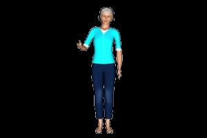 grandma 3d avatar