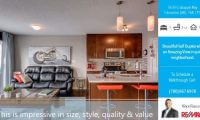 side bar real estate video listing